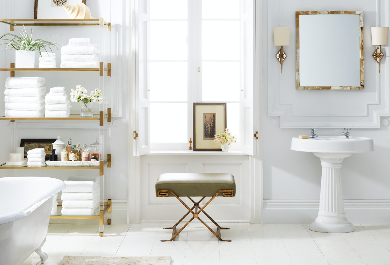 Can a bathroom get any more gorgeous than this?!   Baths   Pinterest ...