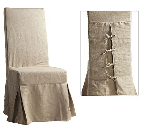 Nice Linen Slipcovers For Dining Chairs