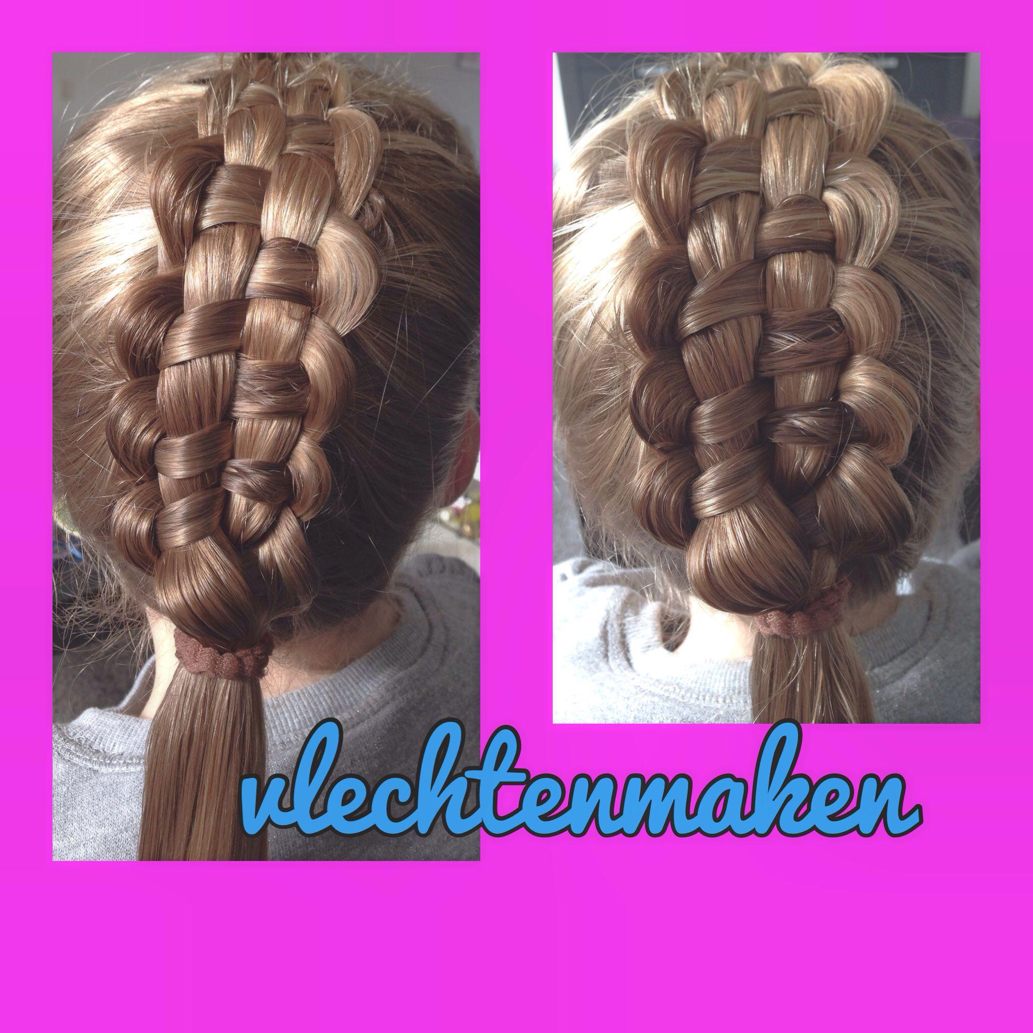 Zipper braid Hairstyles Pinterest