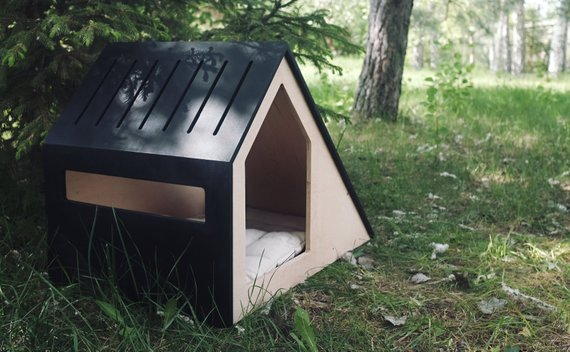 Modern Dog House Indoor Wooden Dog House Dog Kennel Dog Etsy Dog House Outdoor Dog House Modern Dog Houses