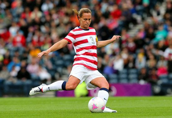 Us Women S Soccer Captain Christie Rampone On Balancing Life And Olympics Olympics Soccer Team Usa
