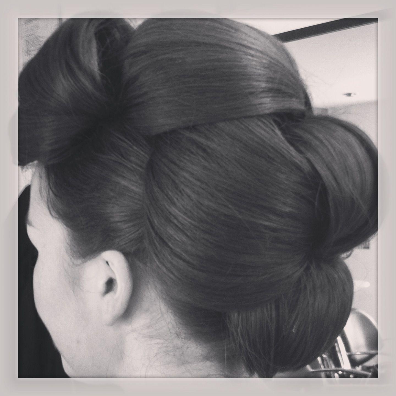 Sleek upstyle angie pinterest ponytail updo and hair style