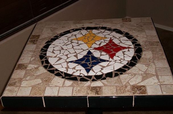 pittsburgh steelers pub table for game room football pinterest