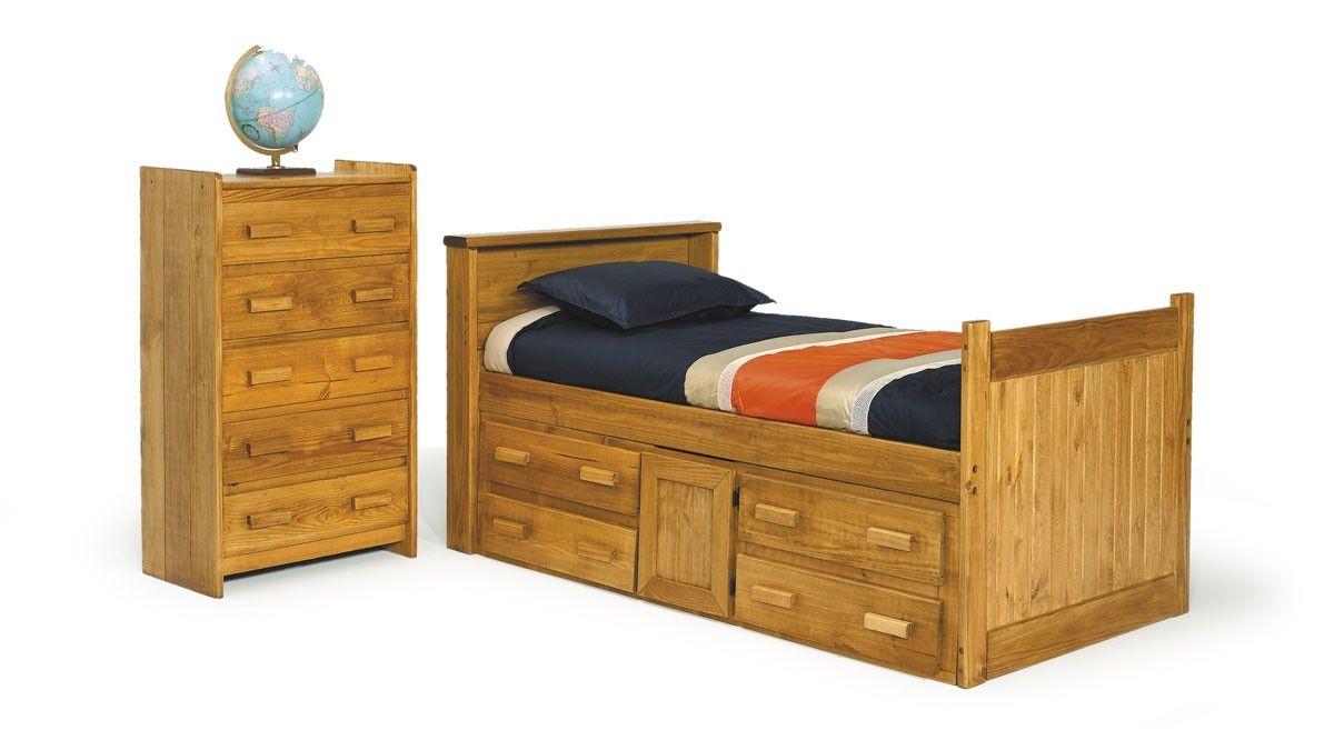Best Heartland 1340 Captains Bed Bunk Beds Bedroom 640 x 480