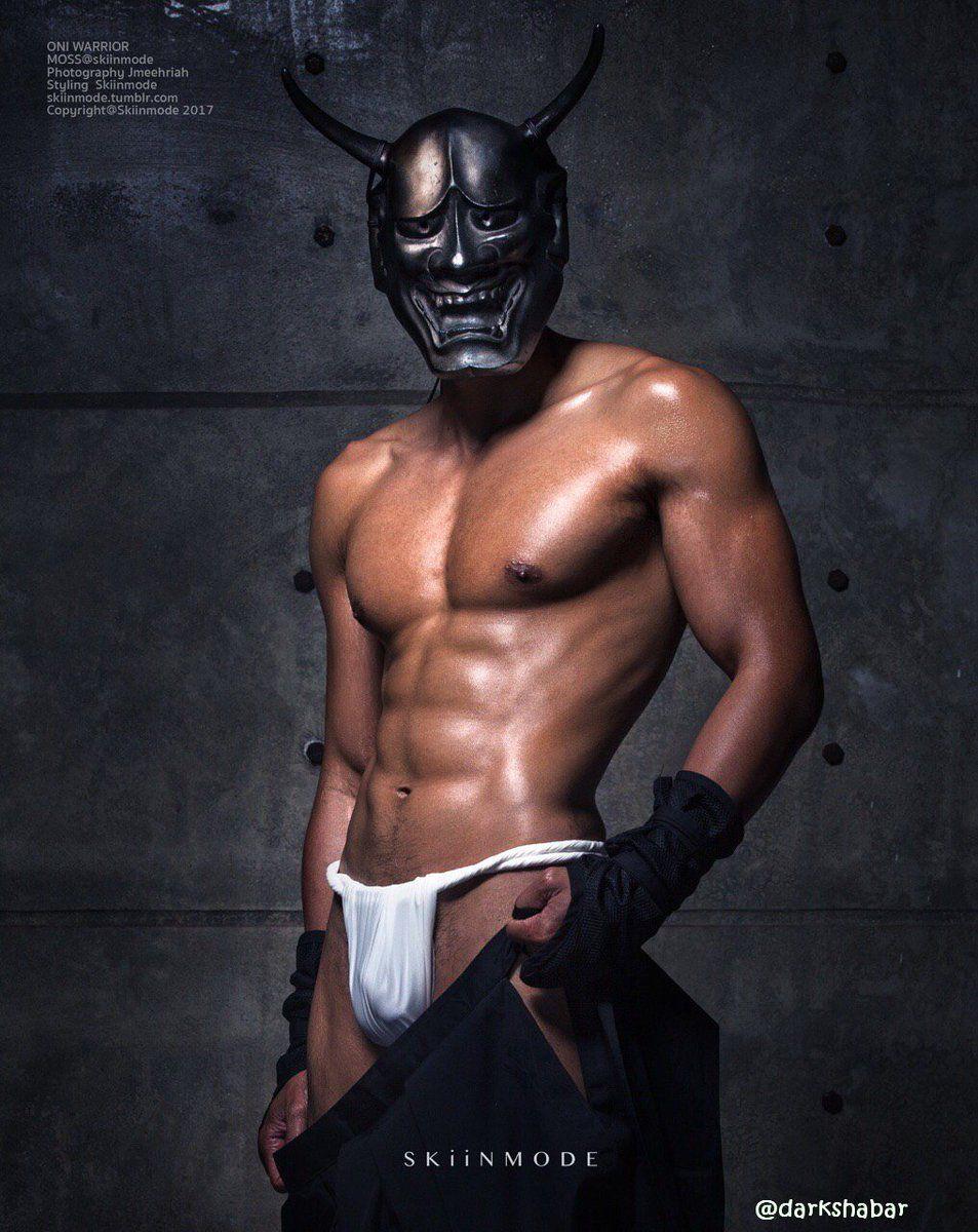 Masked men in panties fuck women in stockings 10