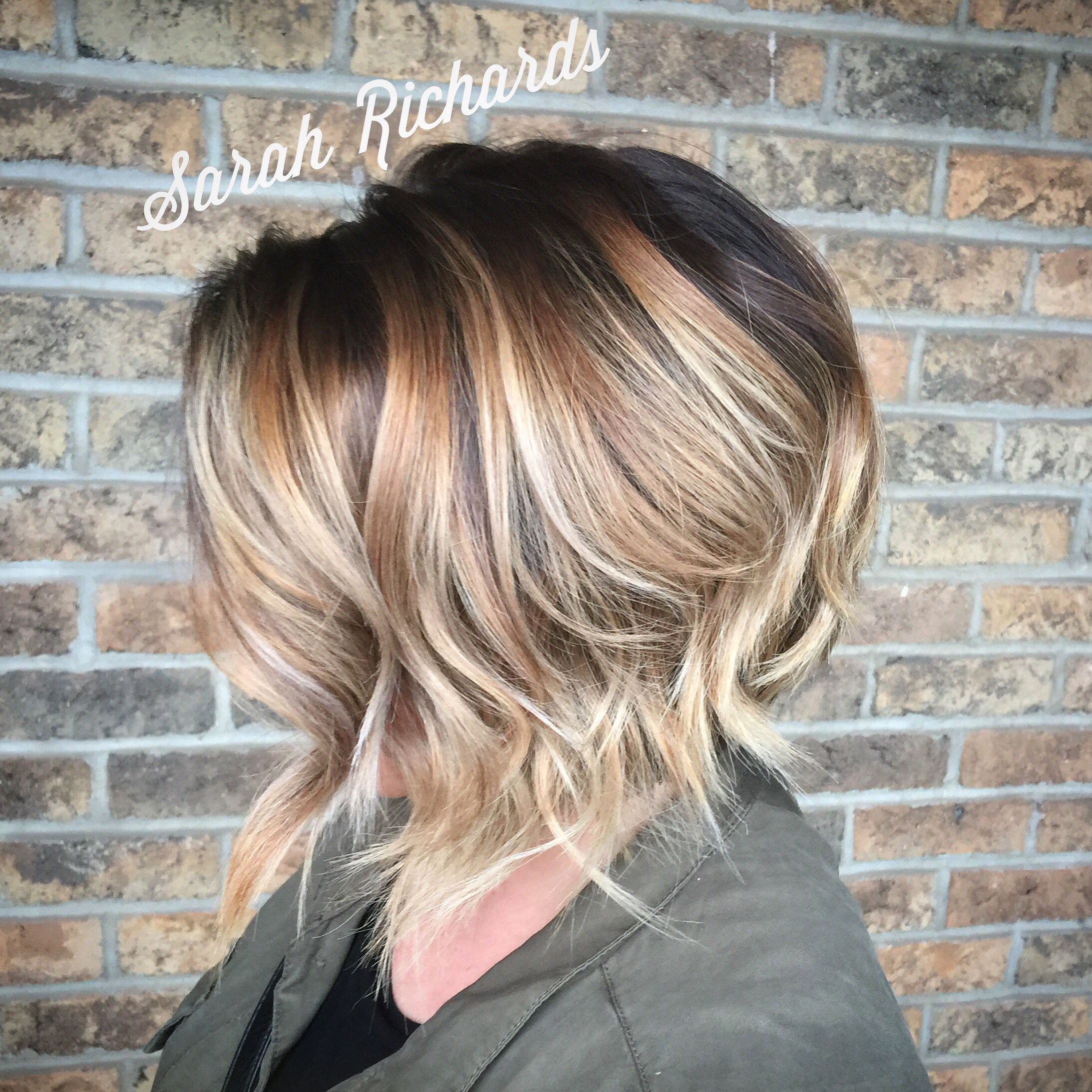 Image result for color melt short hair | hairstyles ...
