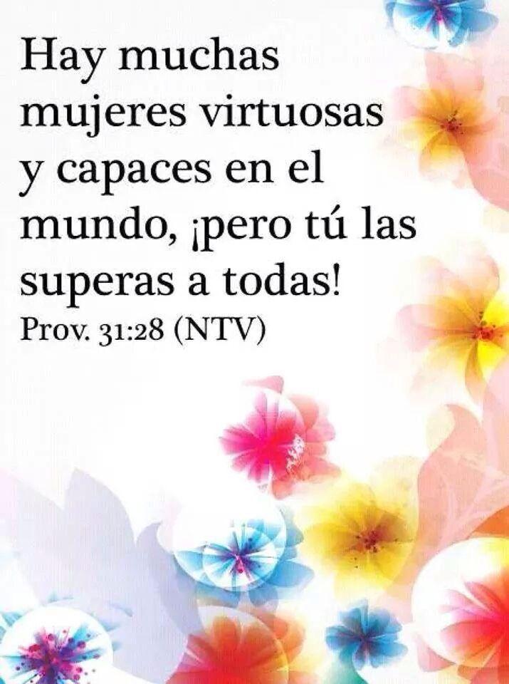Versiculos De La Biblia De Animo: Mujer Virtuosa Proverbios 31