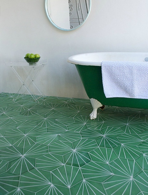 Green With Envy for this floor!