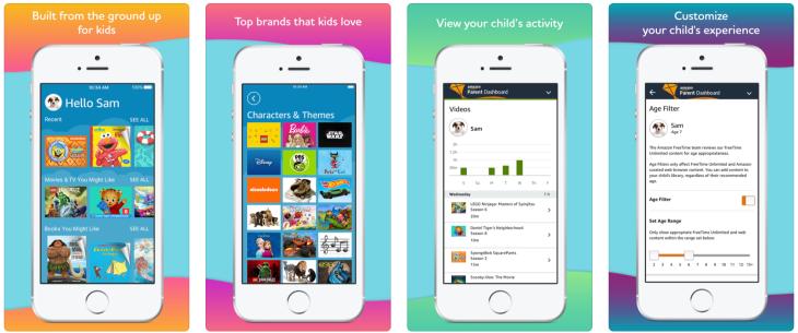 Amazon FreeTime Unlimited finally lands on Apple's App