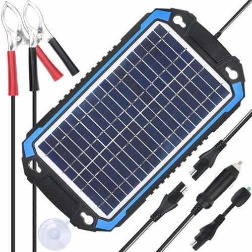 Best Solar Car Battery Chargers In 2020 Reviews With Images Solar Battery Charger Solar Car
