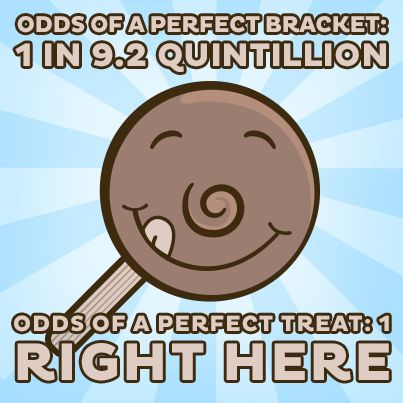 Odds Of A Perfect Bracket 1 In 92 Quintillion Treat RIGHT HERE