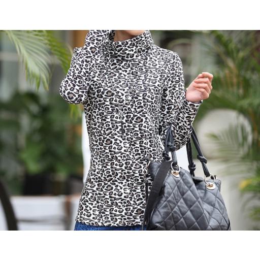 بلوزة تايجر نمري بني رمادي Winter Blouses Fashion Jackets