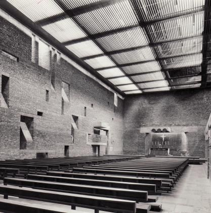 St Bride's RC Church   1964   East Kilbride, Lanarkshire   Gillespie Kidd and Coia