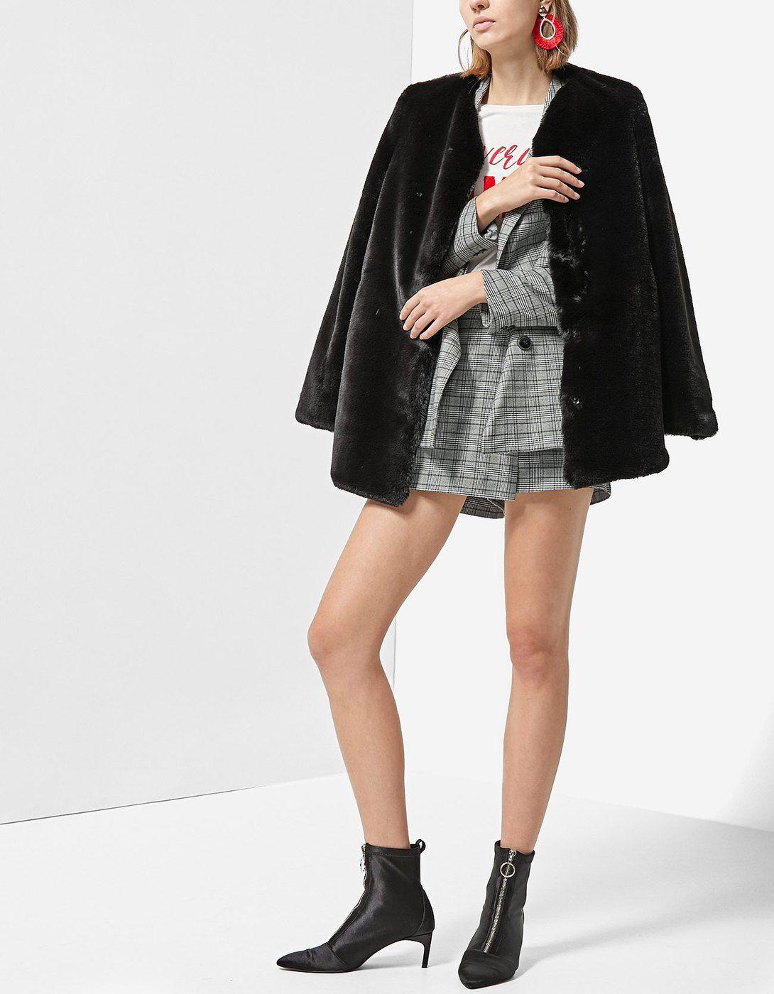 le prix reste stable chaussures authentiques acheter populaire Manteau fausse fourrure douce - Vestes fourrure synthétique ...