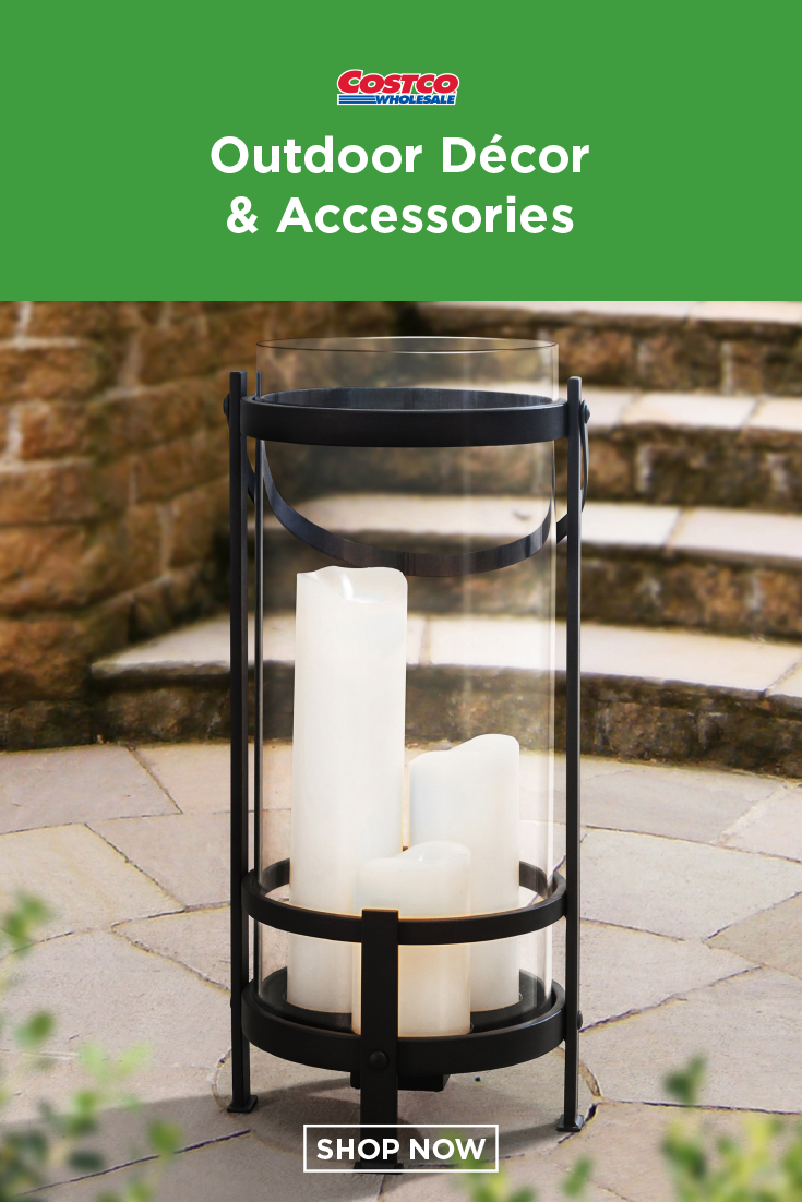 Gentry 3 Candle Lantern by Sunjoy in 2019 | Outdoor & Patio | Candle