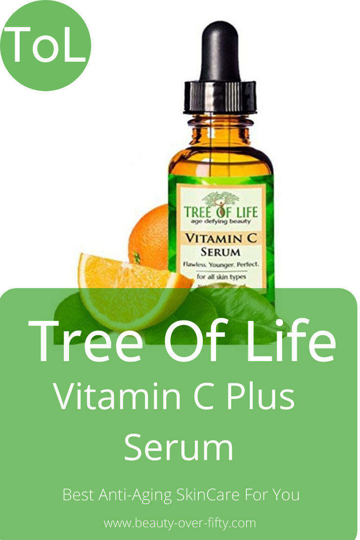 Tree Of Life Vitamin C Serum Review No 7 Amazon Best Seller Beauty Over Fifty Best Anti Aging Serum Vitamin C Serum Vitamin C Serum Reviews