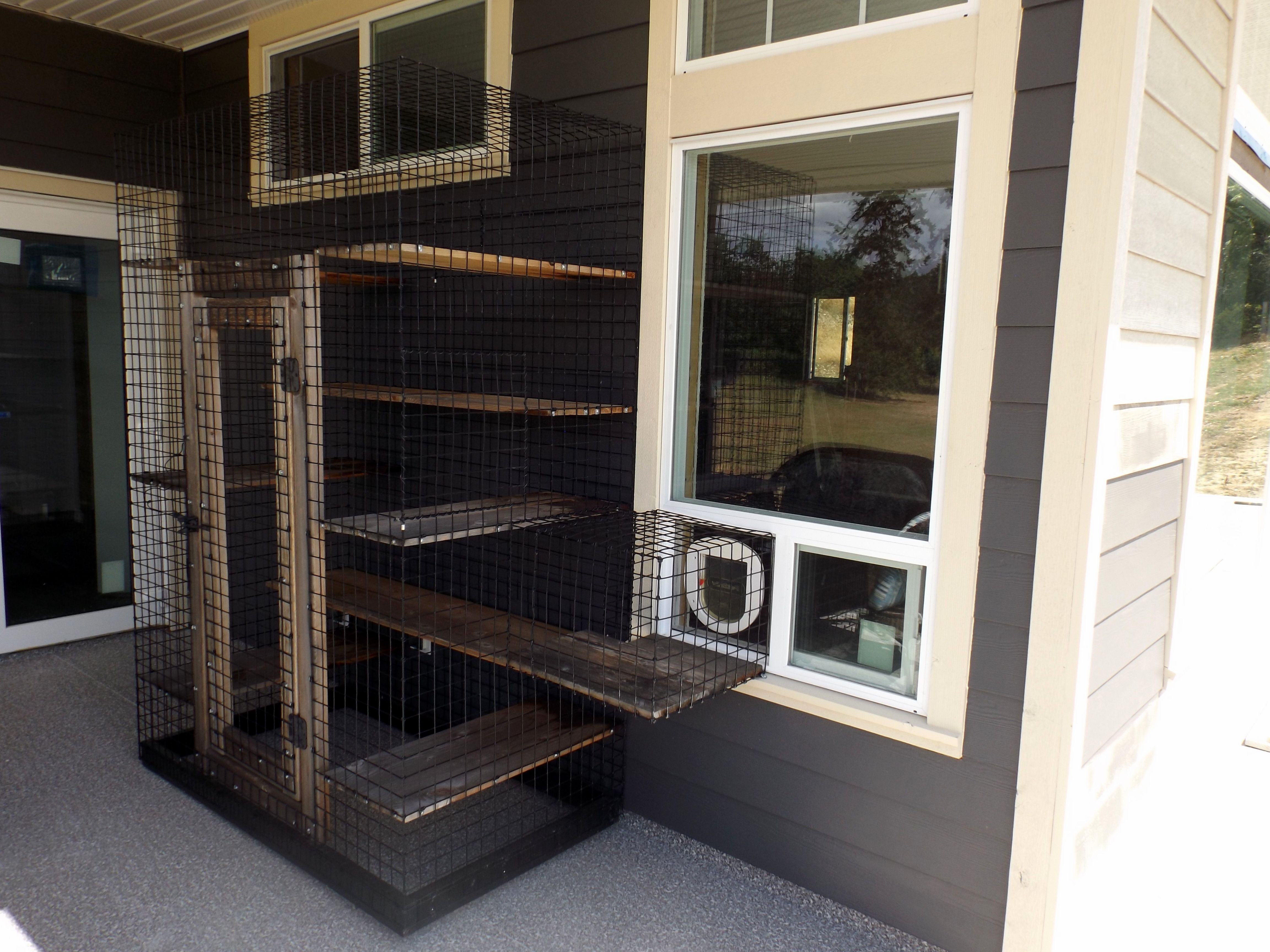 Covered Deck Enclosure, By Beautiful World Living Environments, Catscape.ca