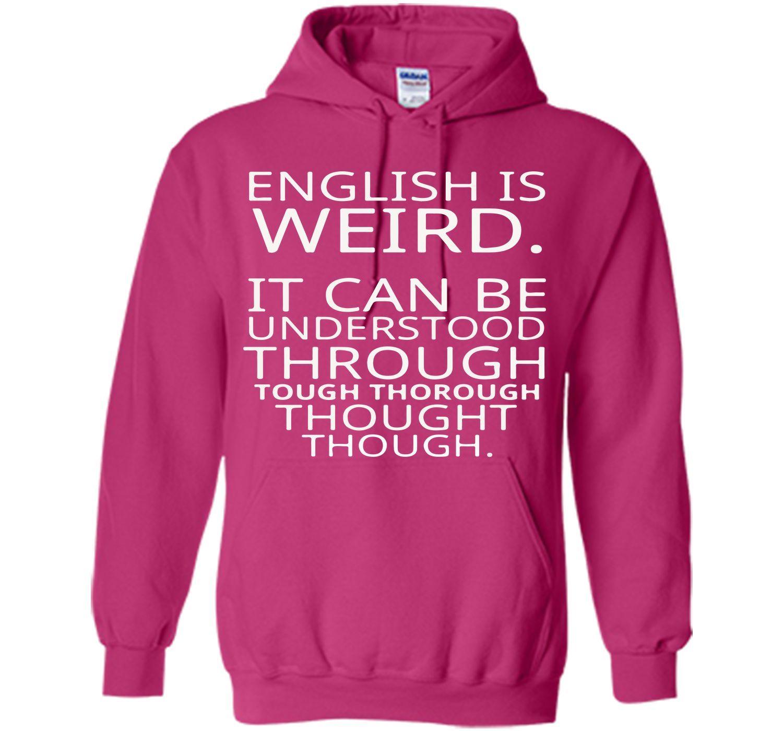 Funny Quote Saying Pun English Design Graphic Tee T-Shirt