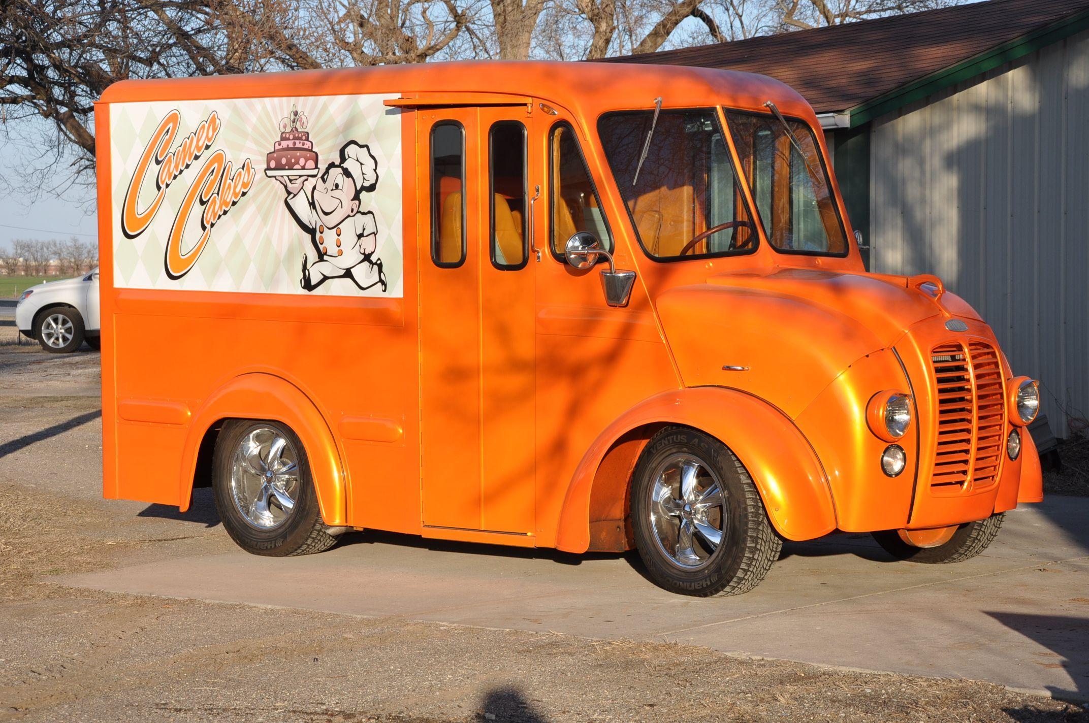 1962 Divco Custom Milk truck | Divco Trucks | Trucks, Step van, Vans