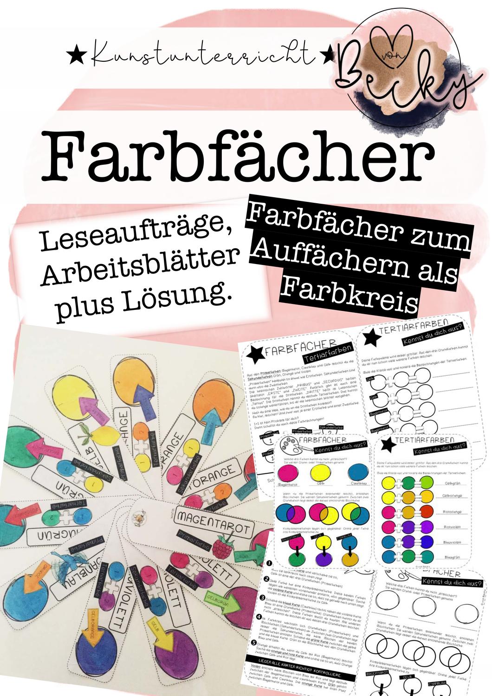 Farbfächer (Farbtheorie, Farblehre, Kunst