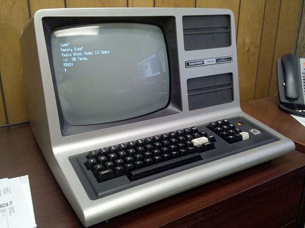 Tandy Radio Shack TRS80 Computer 1977 - 8yrs old  | Old