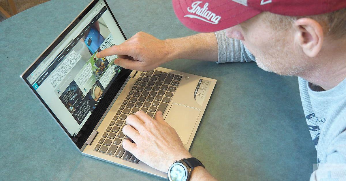Lenovo S Yoga 730 13 Takes A Step Up In Performance A Step Back In Battery Life Lenovo Lenovo Yoga Digital Trends