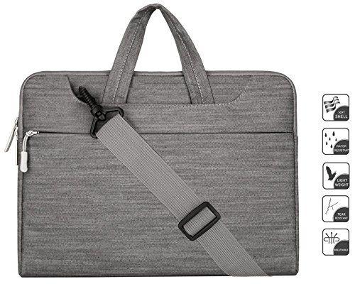 Laptop Shoulder Bag / Briefcase, Mosiso Denim Fabric Shoulder Bag Briefcase Carry Case for 12.9 iPad Pro / 13.3 Inch Laptop / Notebook Computer / MacBook Air / MacBook Pro, Gray Mosiso http://www.amazon.com/dp/B017AP21OU/ref=cm_sw_r_pi_dp_L-xOwb11FA0X8