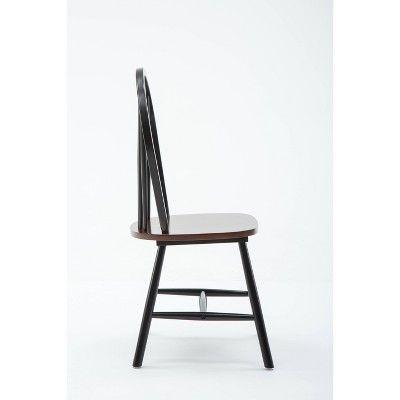 Fabulous Windsor Dining Chair Wood Black Cherry Set Of 2 Boraam Inzonedesignstudio Interior Chair Design Inzonedesignstudiocom