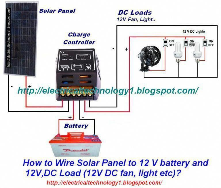 How To Wire Solar Panel To 12v Battery Solarpanelinstallation Solarenergy Solarpanels Solarpower Solarpane In 2020 Solar Panels Solar Power Panels Solar Panel System