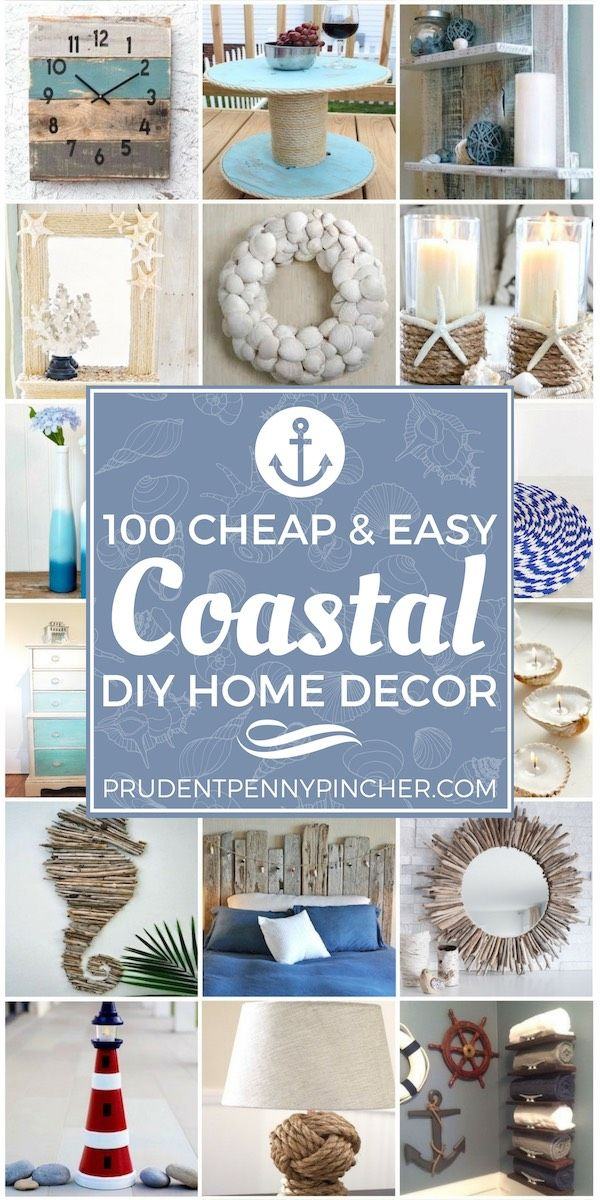Photo of 150 Coastal DIY Home Decor Ideas