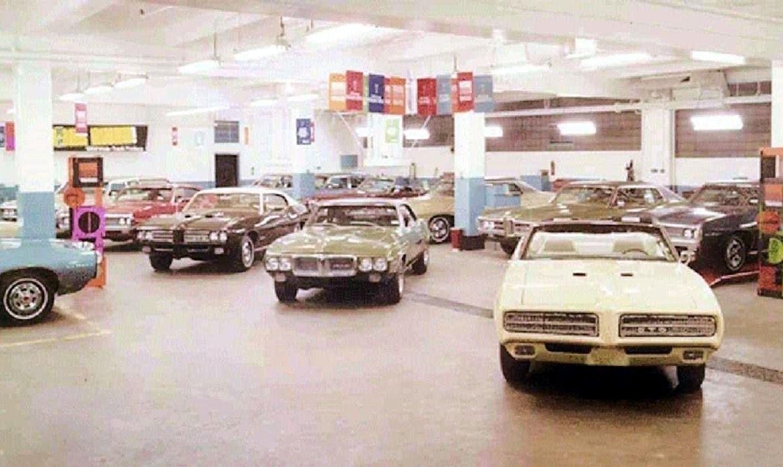 1969 Pontiac Dealership Showroom Car Dealership Dealership