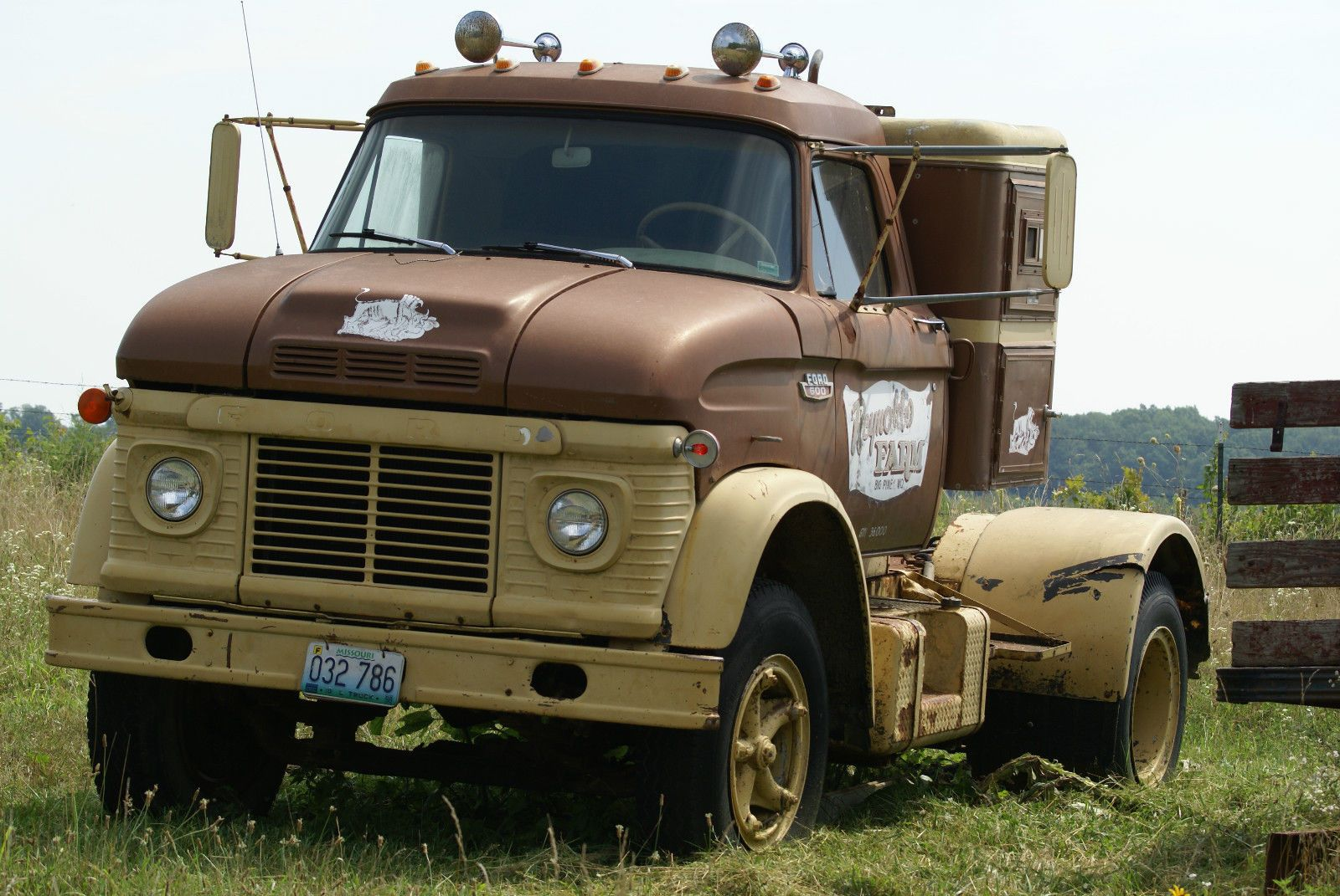 This Old Ford N-600 Truck Needs A New Home And A New Paint Job Stat