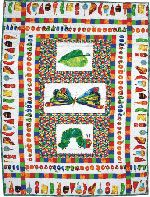 Very Hungry Caterpillar Cot Quilt Kit | Ideas | Pinterest | Cot ... : the hungry caterpillar quilt - Adamdwight.com