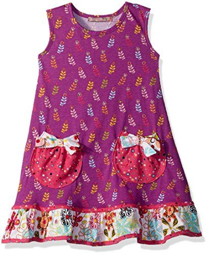 5f6429f68d9a Jelly The Pug Little Girls Tulip Holly Dress Multi 4   Check out the image  by visiting the link.Note It is affiliate link to Amazon.