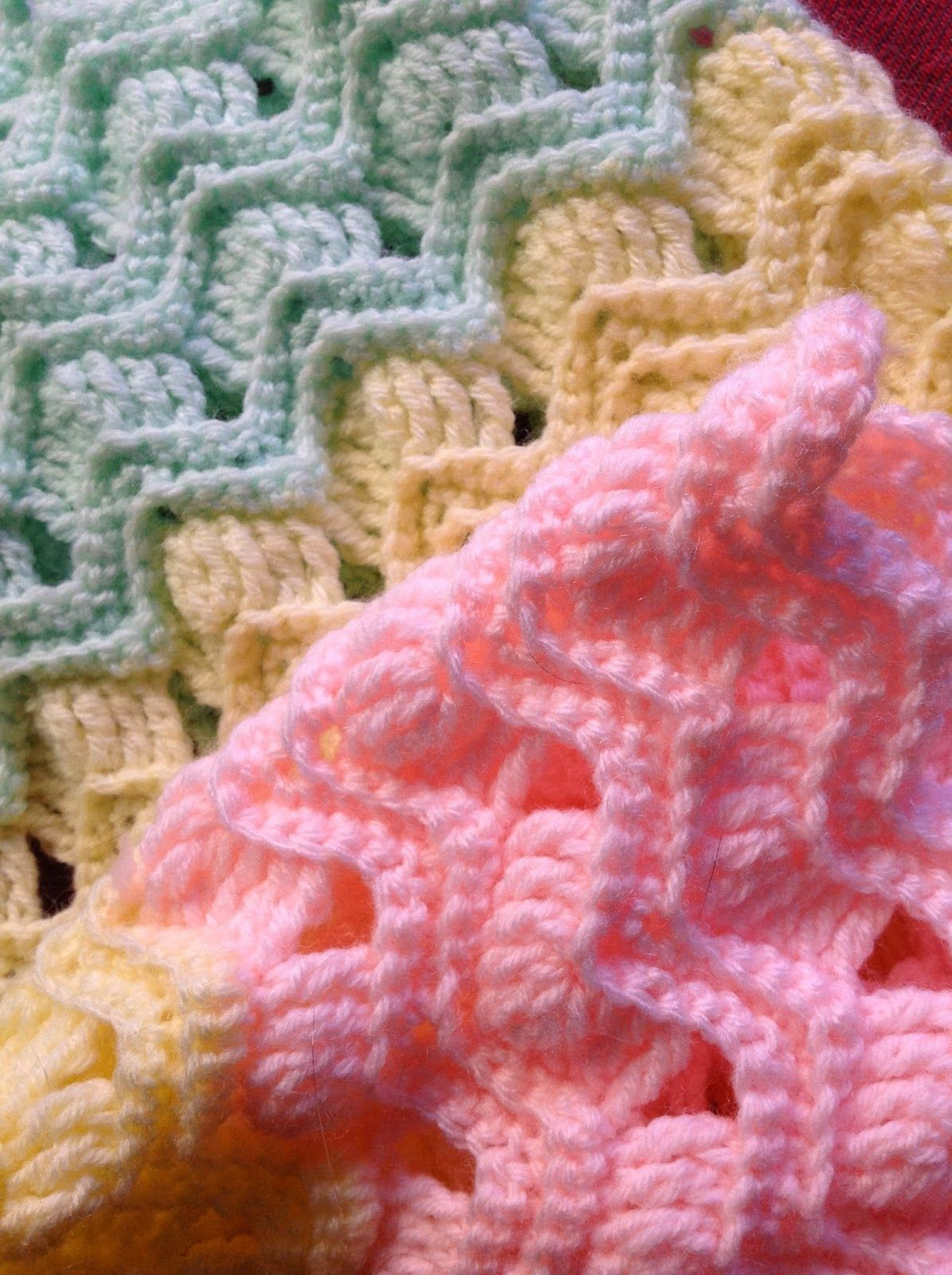 OYA\'s WORLD- Crochet-Knitting: Crochet : Vintage Fan Ripple Stitch ...