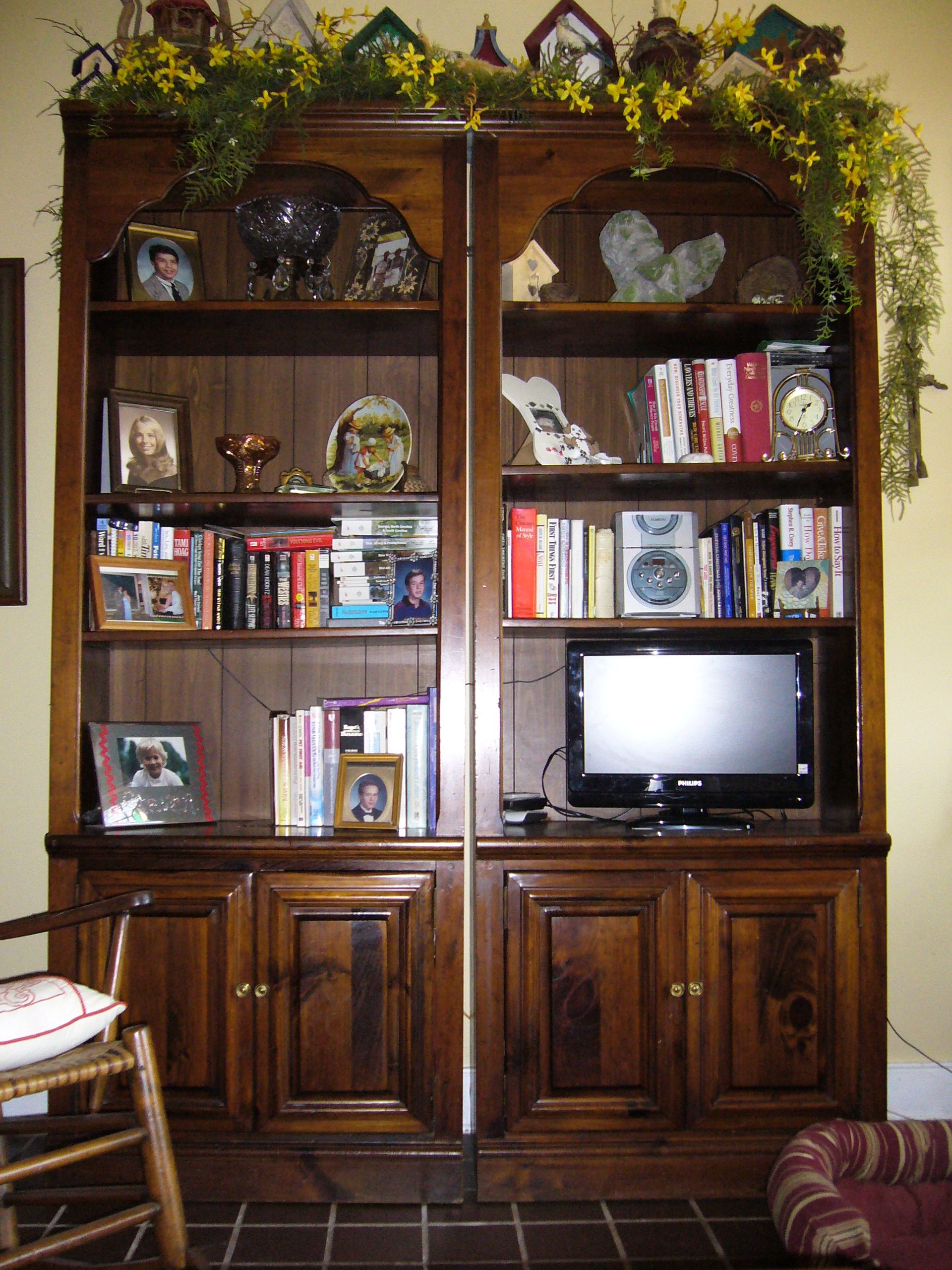 70's Wall Unit 'before'  Before And After  Pinterest  Walls Stunning Wall Units For Dining Room Inspiration Design