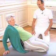 Das Geheimnis, um auch im Alter keine Knieschmerzen zu bekommen! #stayathome
