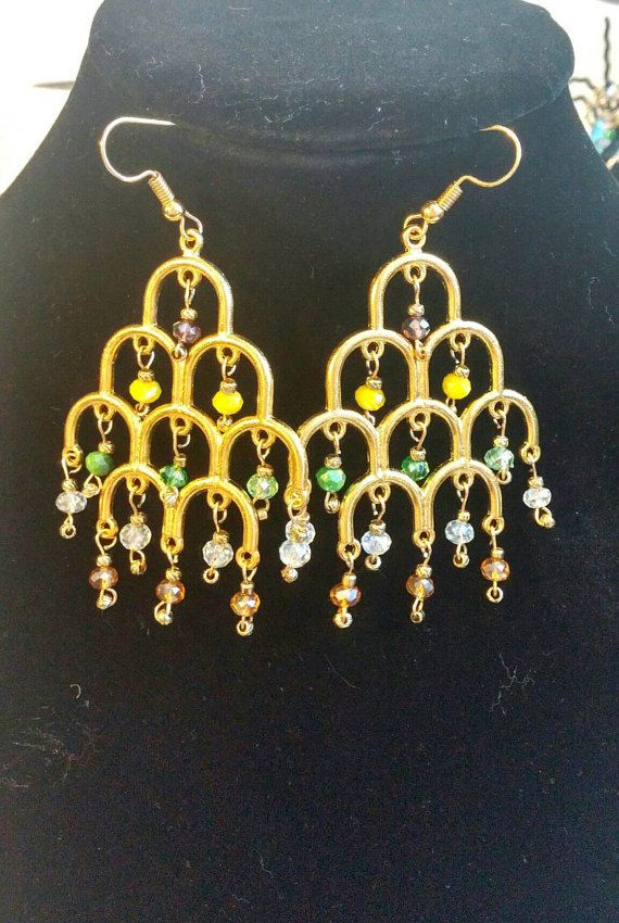 Check out this item in my Etsy shop https://www.etsy.com/listing/453222200/statement-dangle-earrings-swarovski