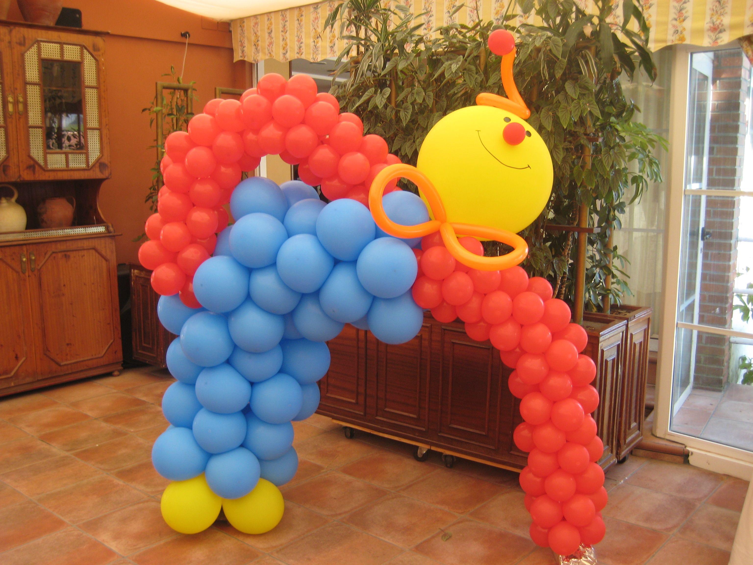 5486cfc36 Arco de globos payaso