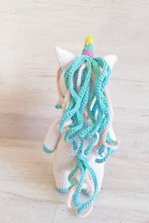patron gratuito unicornio amigurumi crochet | Crochet patrones ... | 1186x794