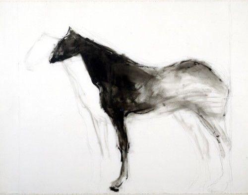 Susan Rothenberg Untitled, 1976 acrylic and graphite on paper