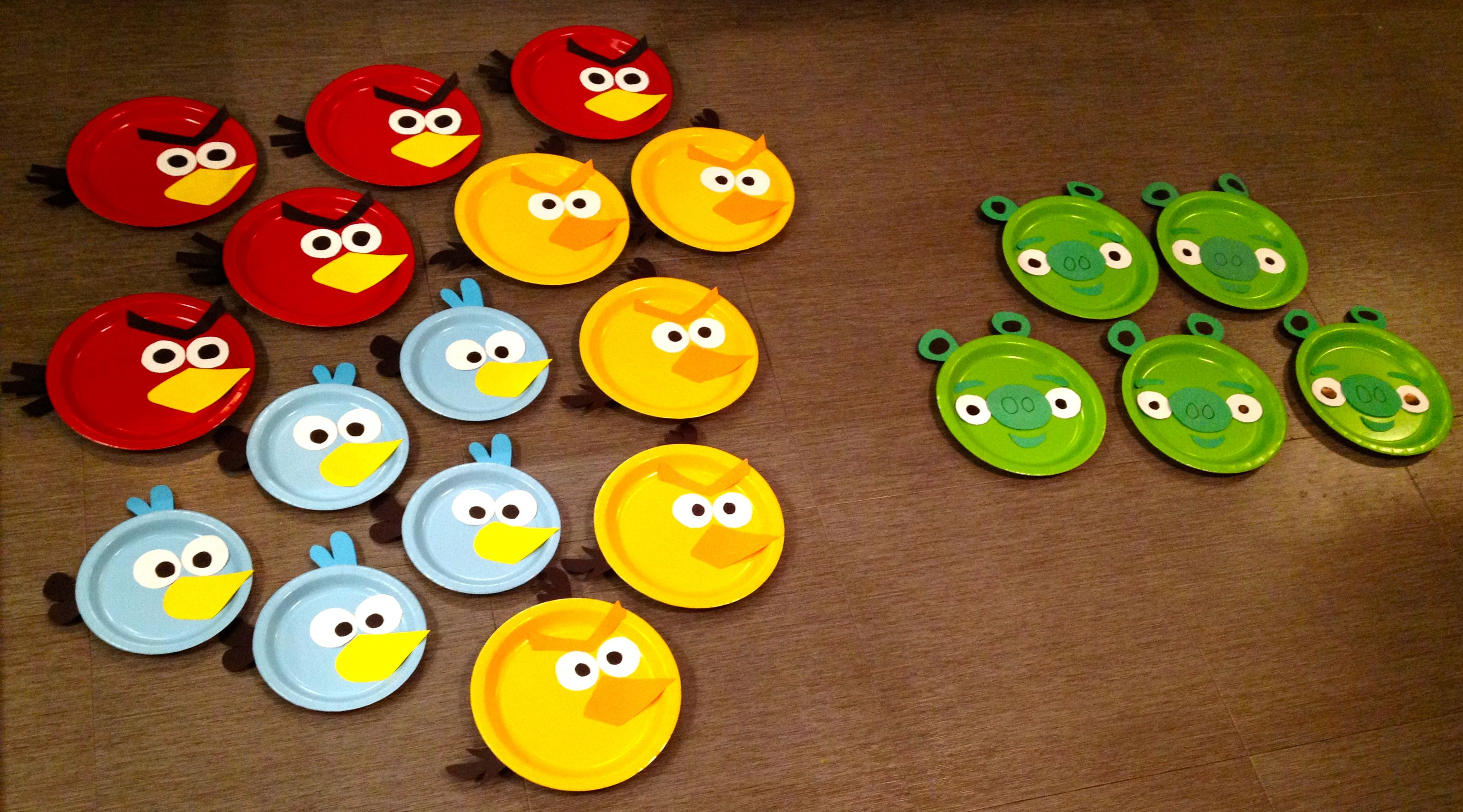 Angry birds party decorations angry birds party for Angry birds party decoration ideas