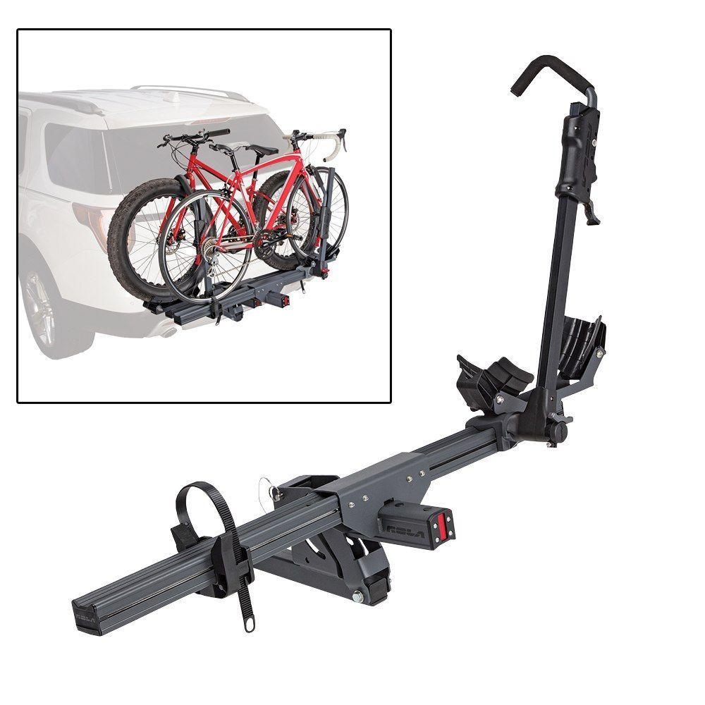 Thule Doubletrack Platform Style 2 Bike Rack For 1 1 4 And 2 Hitches Frame Mount Thule Hitch Bik Hitch Bike Rack Bike Bike Rack