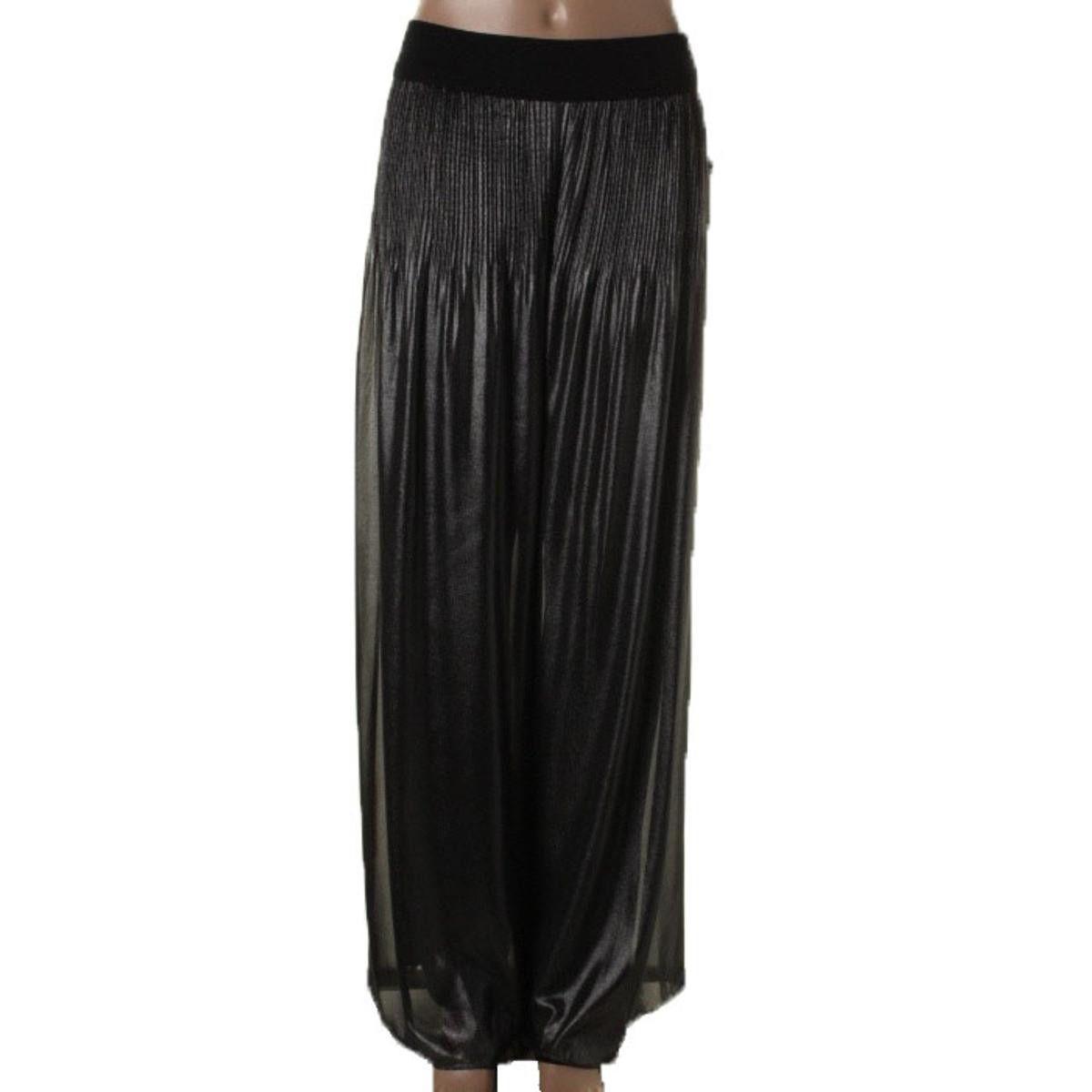 Alfani Womens Metallic Wide Leg Palazzo Pants