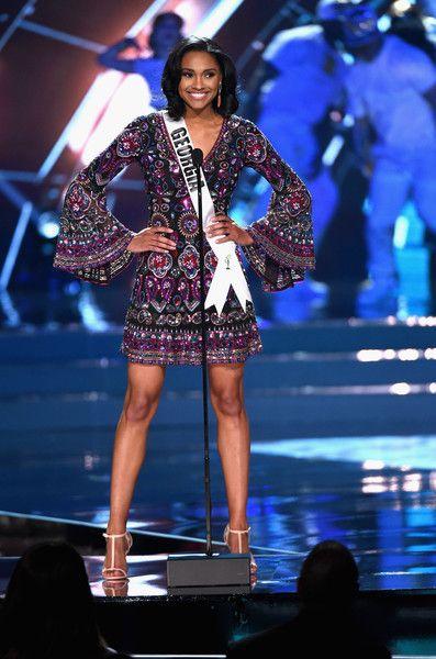 Miss Georgia, Emanii Davis - Every Beautiful Contestant From the 2016 Miss USA Competition - Photos