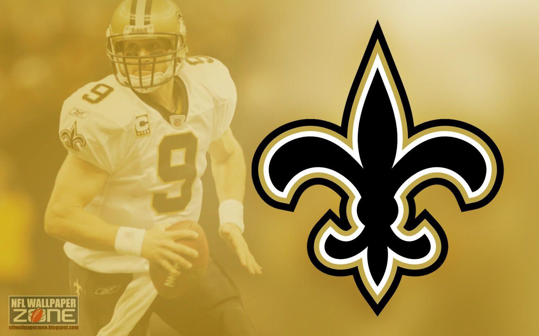 NFL Wallpaper Zone: New Orleans Saints Wallpaper - Free Saints ... | LSU and Saints logos | New ...