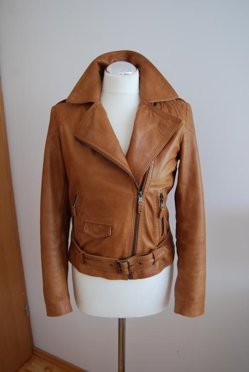 Massimo Dutti Kurtka Ramoneska Skora Ruda 38 Cena 2732220596 Oficjalne Archiwum Allegro Fashion Womens Fashion Leather Jacket
