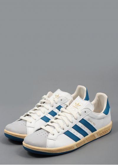 new product b401b f8f6e Adidas Grand Prix Trainers White