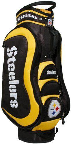 Nfl Pittsburgh Steelers Cart Golf Bag By Team 149 99 14 Way Dividers