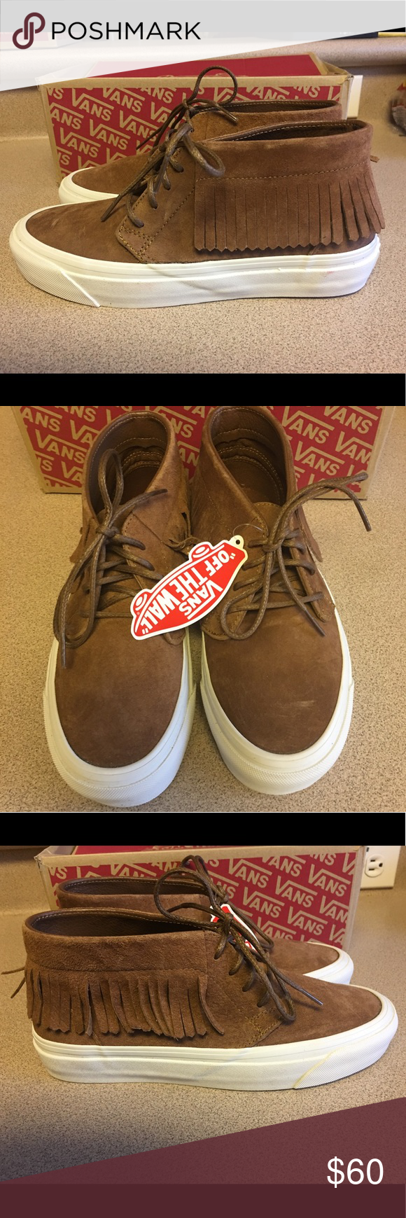 1d70f925d430 New VANS New Chukka Moc DX Suede Vault Women Sz 8 New VANS New Chukka Moc  DX Suede Vault Women s Size 8 Vans Shoes Sneakers